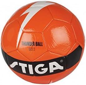 Stiga Pelota de Futbol Thunder 3 Naranja: Amazon.es: Deportes y ...