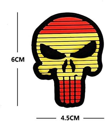 Ohrong - Parche táctico de PVC con bandera nacional de España, parche de bandera de Molon Labe con parche militar: Amazon.es: Hogar