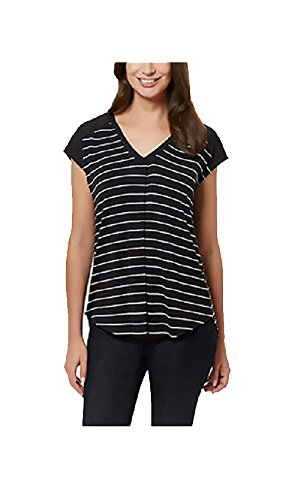 adrienne-vittadini-ladies-short-sleeve-top-medium