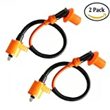 Podoy Gy6 Ignition Coil Racing 50cc for Newmotoz 125cc 150cc 250cc Scooter Moped (Pack of 2)