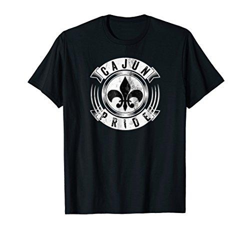 - Cajun Pride Fleur De Lis Louisiana Creole Coonass Gift Shirt