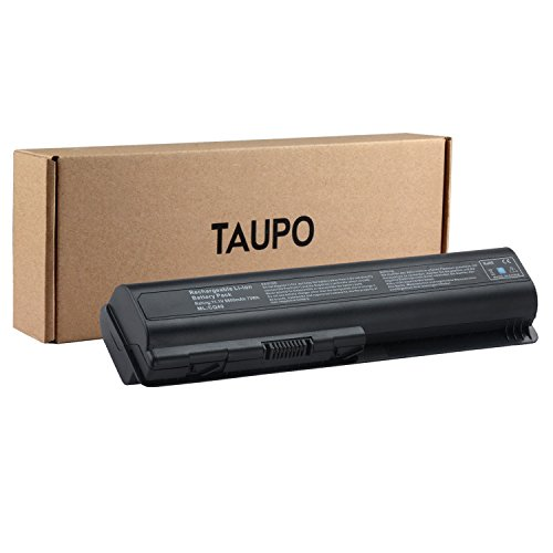 TAUPO 9-Cell Extended Laptop Battery for HP Pavilion DV4-1000 DV4-2000 DV5-1000 DV6-1000 DV6-2000 CQ40 CQ50 CQ60 CQ70 G50 G60 G60T G61 G70 Series, Fits 484170-001 EV06 KS524AA KS526AA (1002au Battery)