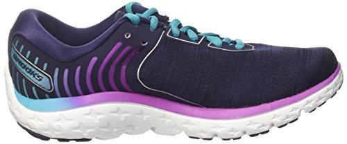 Brooks Pureflow 6, Zapatos Para Correr Para Mujer Multicolor (Evening Blue/teal Victory/island Blue)