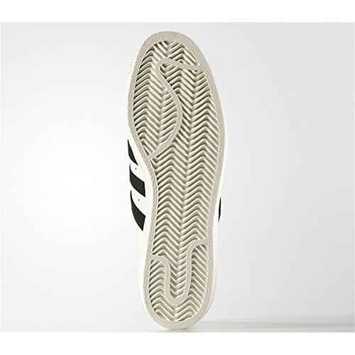 adidas Pro Model Vintage DLX, Sneaker Alte Uomo (Blanc-Noir)