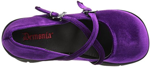 KERA Purple Velvet Velvet 10 Demonia Purple 10 KERA Demonia qXUxvg