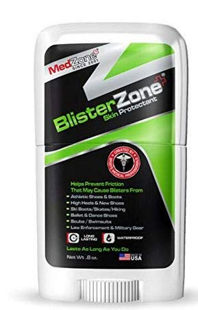 - BlisterZone Blister Gel and Skin Protectant for Feet and Hands - 0.8 Ounce Stick by MedZone