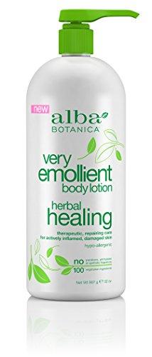 Alba Botanica Very Emollient Lotion Herbal Healing.
