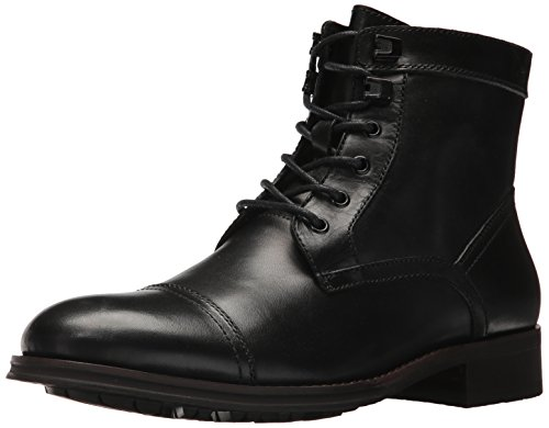 Kenneth Cole New York Men Design 104352 Combat Boot Black