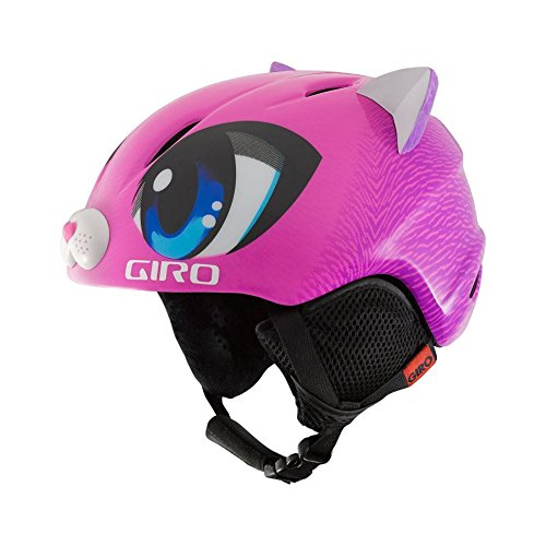 Giro Launch Plus Kids Snow Helmet Pink Meow S (52-55.5cm)
