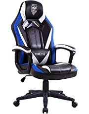 Ergonomic Gaming Chair, Swivel Computer Gaming Chair with Massage, Racing Style Manager Chair, High Back Gaming Desk Chair, Carbon Fibre Modern Task Chair, Esports Gamer Chair Big and Tall