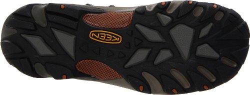 Keen Utility Mens Detroit Mid Soft Toe Work Boot,Black Olive,8.5 D US