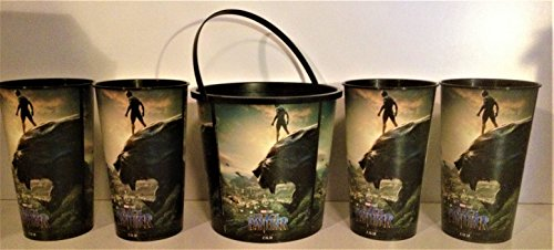 Marvel Comics: Black Panther Movie Theater Exclusive 130/44 oz Family Pack