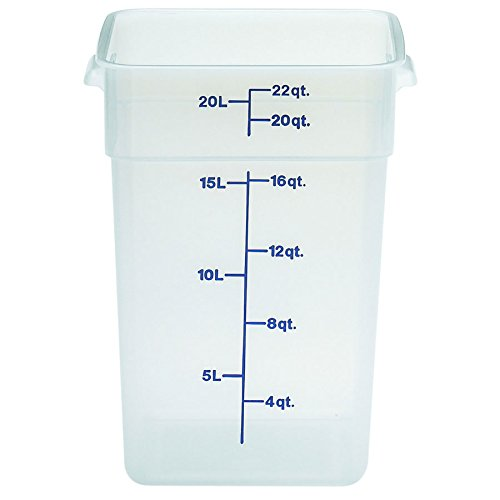 Cambro Bay (Cambro (22SFSPP190) 22 qt Polypropylene Food Storage Container - CamSquare)