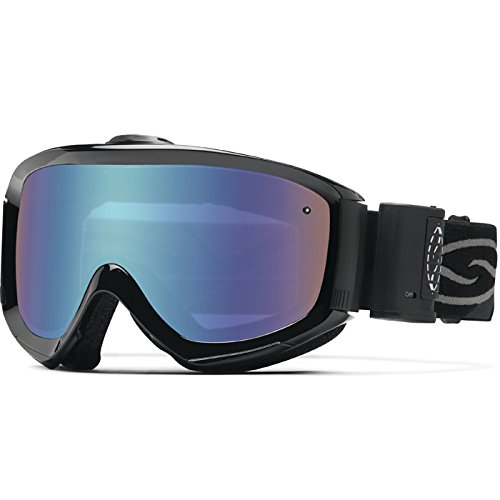 Smith Optics Prophecy Turbo Fan Series Winter Sport Snowmobile Goggles Eyewear - Black/Blue Sensor / Medium/Large by Smith Optics