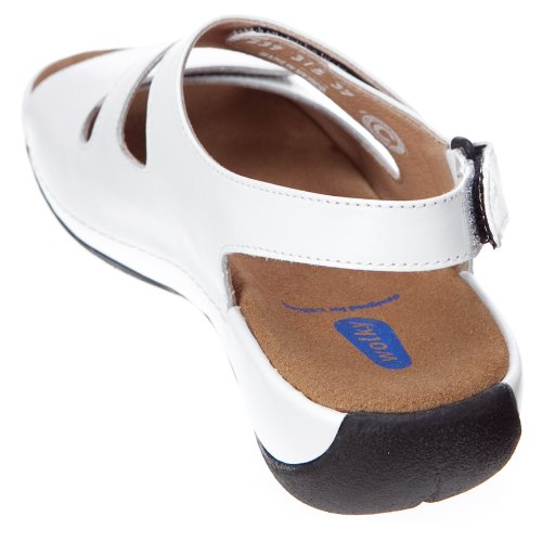 Leather Wolky White 38 European Liana Smooth Women's rIHwBxI