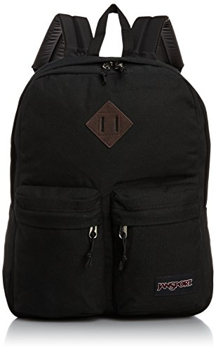 JanSport Hoffman Backpack - Black - 16.7''H x 13''W x 7''D by JanSport