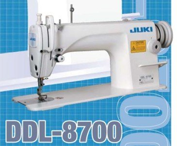 (JUKI DDL-8700 1-Needle Lockstitch Straight Stitch Sewing Machine - Head Only)