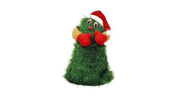 para Cantar y Bailar con Luces Decoraci/ón novedosa TOYLAND/® /Árbol de Navidad de 14 35 cm