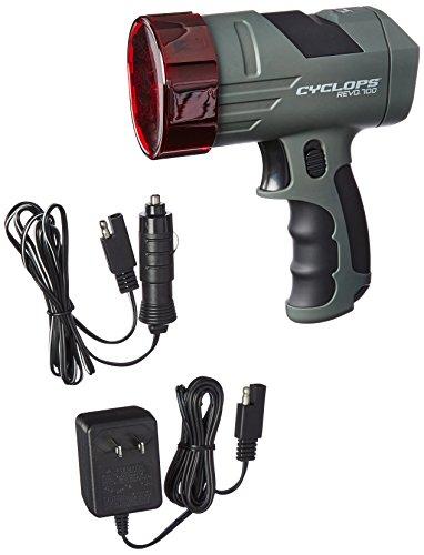 GSM Outdoors CYC-X700SLA Cyclops REVO Handheld Spotlight, 700 lm, Rechargeable