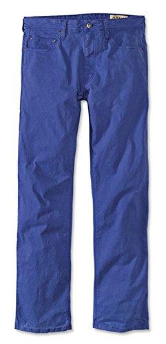 Orvis Men's 5-Pocket Stretch Twill Pants, Royal Blue, 38, Inseam: 32 ()
