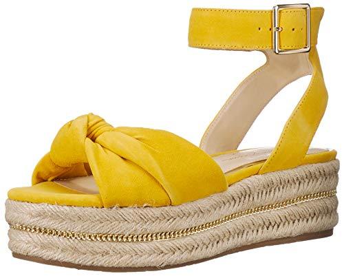 Jessica Simpson Women's APRILLE Sandal, Sunflower, 9 M US (Jessica Simpson Yellow Dress)