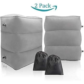 Amazon.com: STYDDI Travel Foot Rest Pillow, Inflatable ...