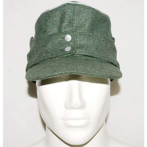 Heerpoint Reproduction WWII German WH Officer M43 panzer wool field Cap (L)