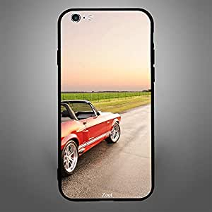 iPhone 6 Plus Red Open Top Car
