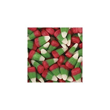 holiday christmas candy corn green white red bulk 5lb - Christmas Candy Corn