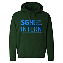 Indica Plateau Intern Seattle Grace Hospital Unisex Adult Hoodie