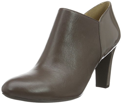 Geox Women's D New Mariele High a Closed Toe Heels, Brown Braun (Chestnutc6004)