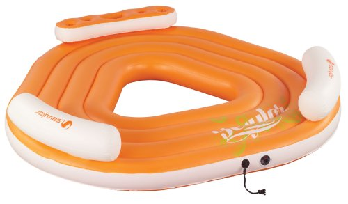 inflatable pool party platform