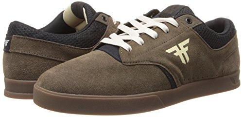FALLEN VIBE AFGHAN BROWN/GUM SANDOVAL Signature Skate Shoes Sz 7.5