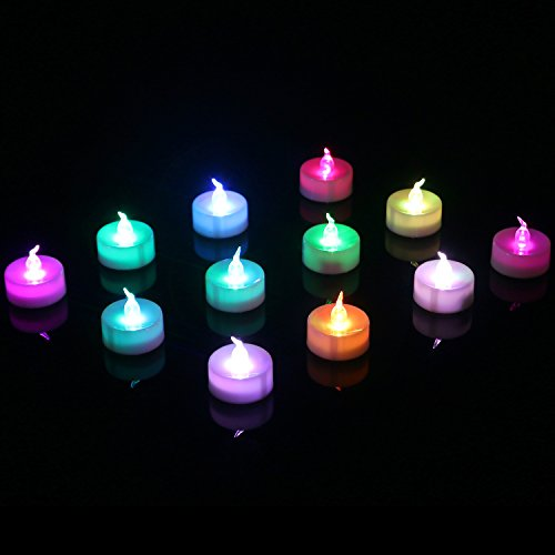 authentic homemory battery color changing tea lights