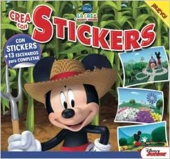 DISNEY CREA CON STICKERS N°4