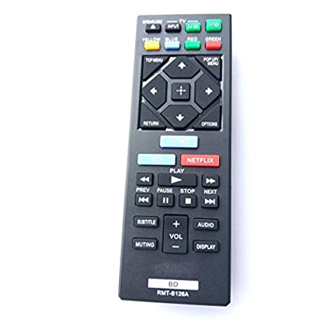 Universal Remote for Sony Blu-Ray DVD Player BDP-BX120 BDP-BX320 BDPBX520 BDP-S1200 BDP-S2200 BDP-S3200 BDP-S520 BDP-S6200 BDPS2100 (Blu Ray Sony Bdp S6200)
