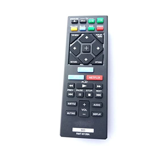 Universal Remote for Sony Blu-Ray DVD Player BDP-BX120 BDP-BX320 BDPBX520 BDP-S1200 BDP-S2200 BDP-S3200 BDP-S520 BDP