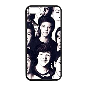 Zyhome iPhone 5,5S Magcon Boys Members Edit Case Cover for iPhone 5,5S TPU (Laser Technology)
