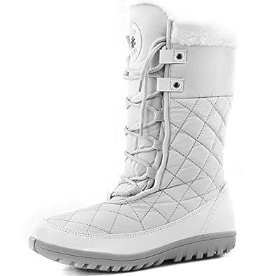 Amazon.com | Women's DailyShoes Comfort Round Toe Mid Calf