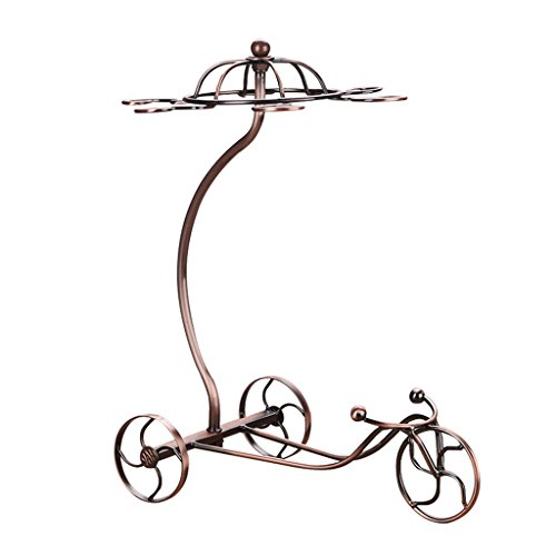 He Xiang Firm Wine rack decoration home inverted with cup holder wine rack personalized wrought iron wine rack wine cabinet decoration by He Xiang Firm
