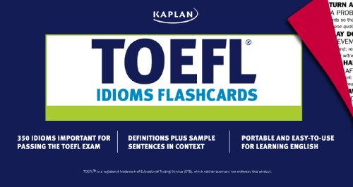 TOEFL Idioms Flashcards