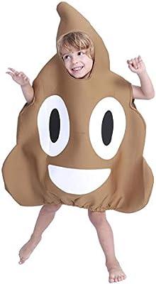 Brownrolly Disfraz de Caca de Halloween para niños Juego de ...