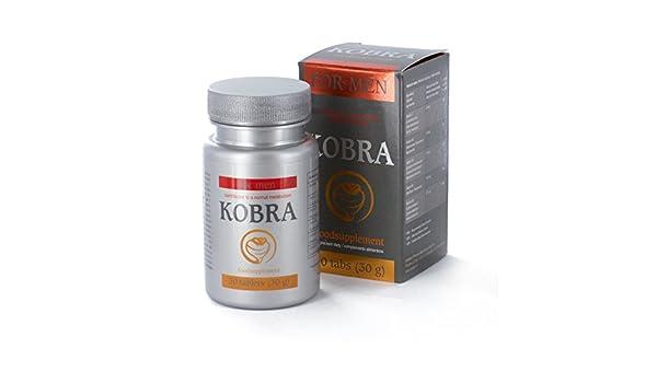 Amazon.com: KOBRA PARA HOMBRE 30 COMPRIMIDOS - ST: Health & Personal Care