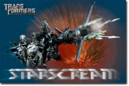 Amazon.com: Póster de Transformers Starscream la venganza de ...