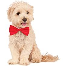 Rubies Costume Co Company 580405_L-XL Red Pet Bowtie, Large/X-Large