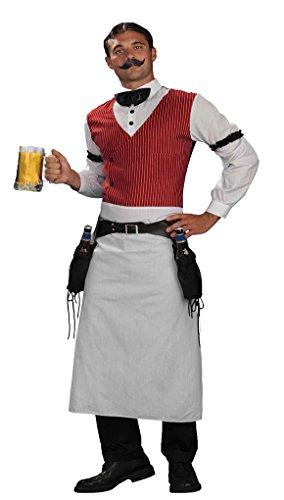 Old-Fashioned Bartender Costume Adult – Standard (Bartender Costume)