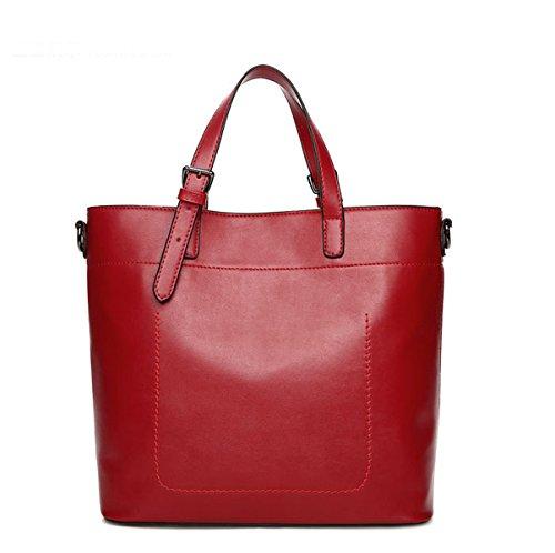 Mujer Nuevo Bolso De Mano Europa Moda Simple Todo-fósforo Sola Bolsa De Hombro Bolso Red