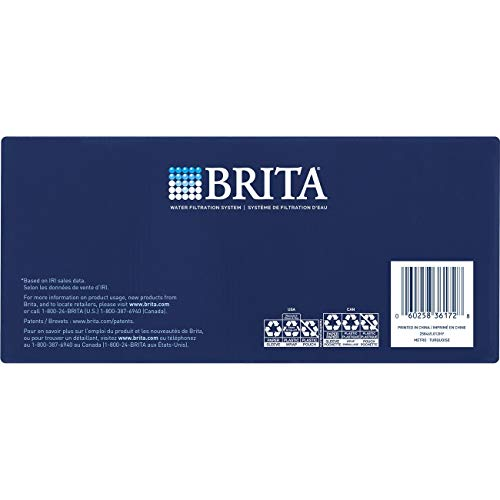 Brita Small 5 Cup Metro Water Pitcher with Filter - BPA Free - Turquoise by Brita (Image #8)