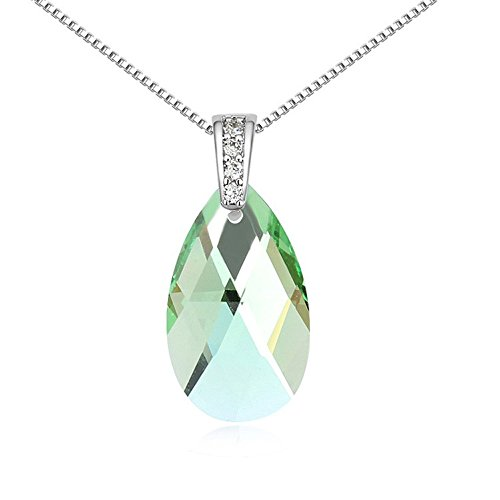 the-starry-night-swarovski-drop-crystal-transparent-pendant-diamond-accented-necklace-tasty-life-the