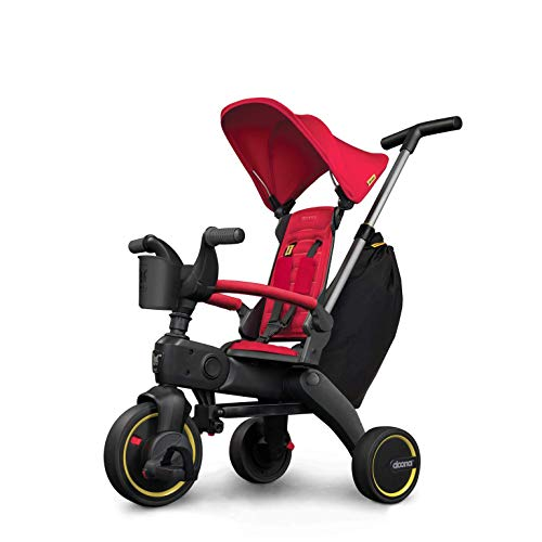 Review Of Doona - Liki Trike S3 - Flame Red